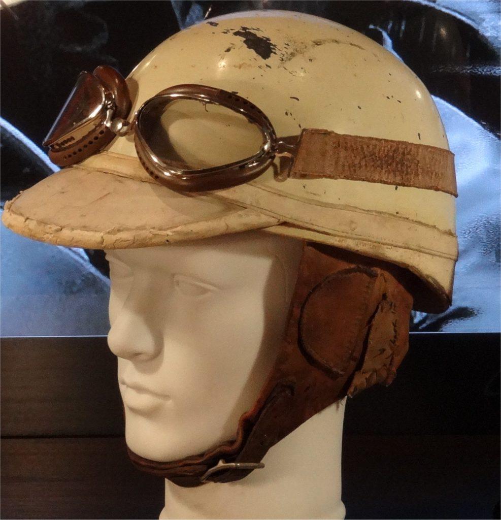 Giuseppe Farina Anderson helmet 1952