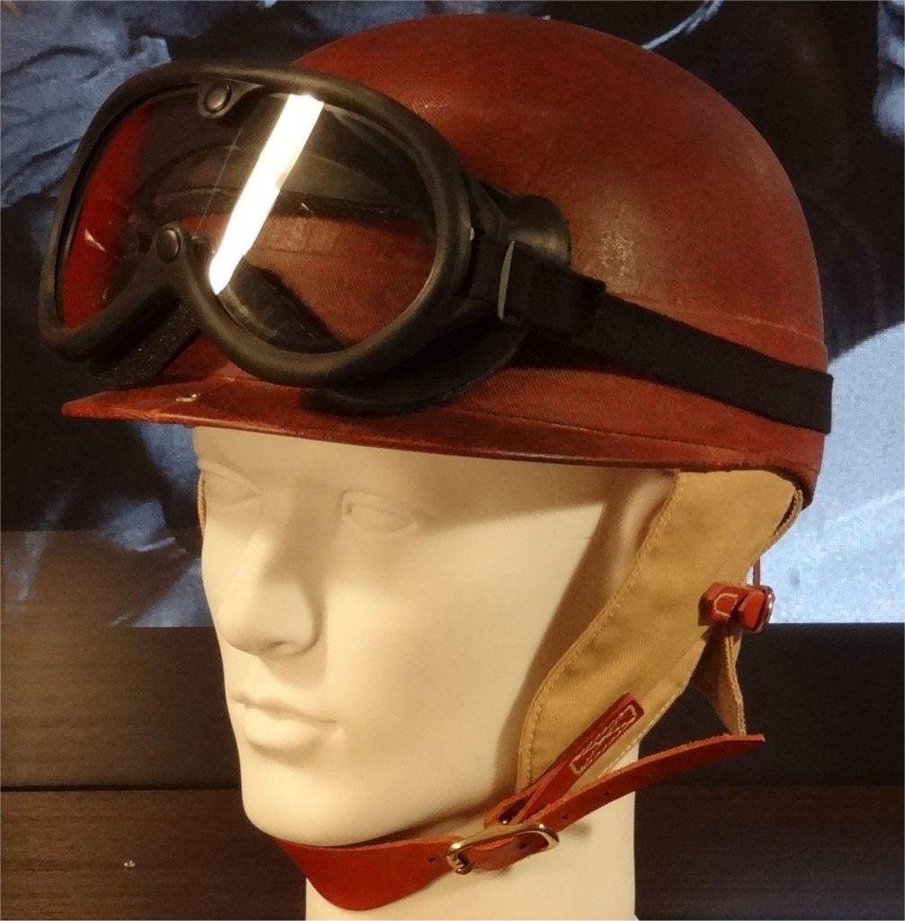 Juan Manuel Fangio Chapal helmet 1954
