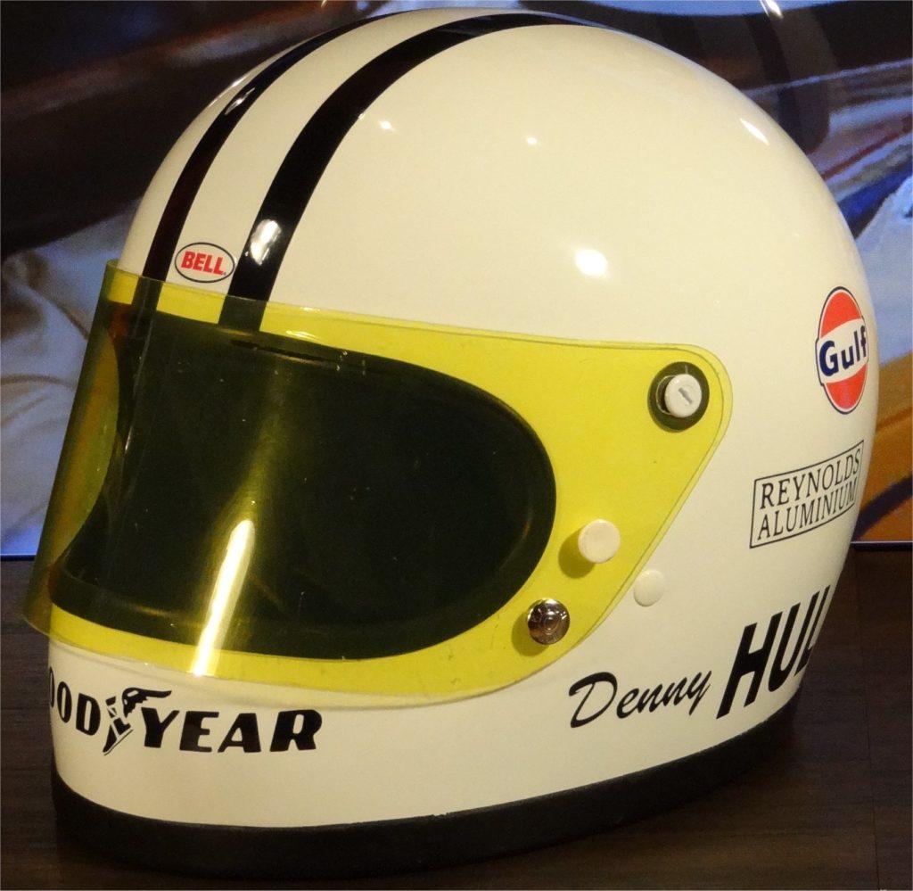 Denny Hulme Bell helmet