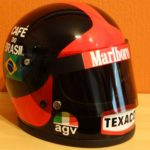 Emerson Fittipaldi Bell AGV helmet 1974