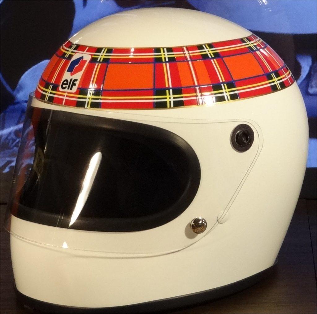 Jackie Stewart Bell helmet