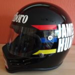 James Hunt Simpson helmet 1979