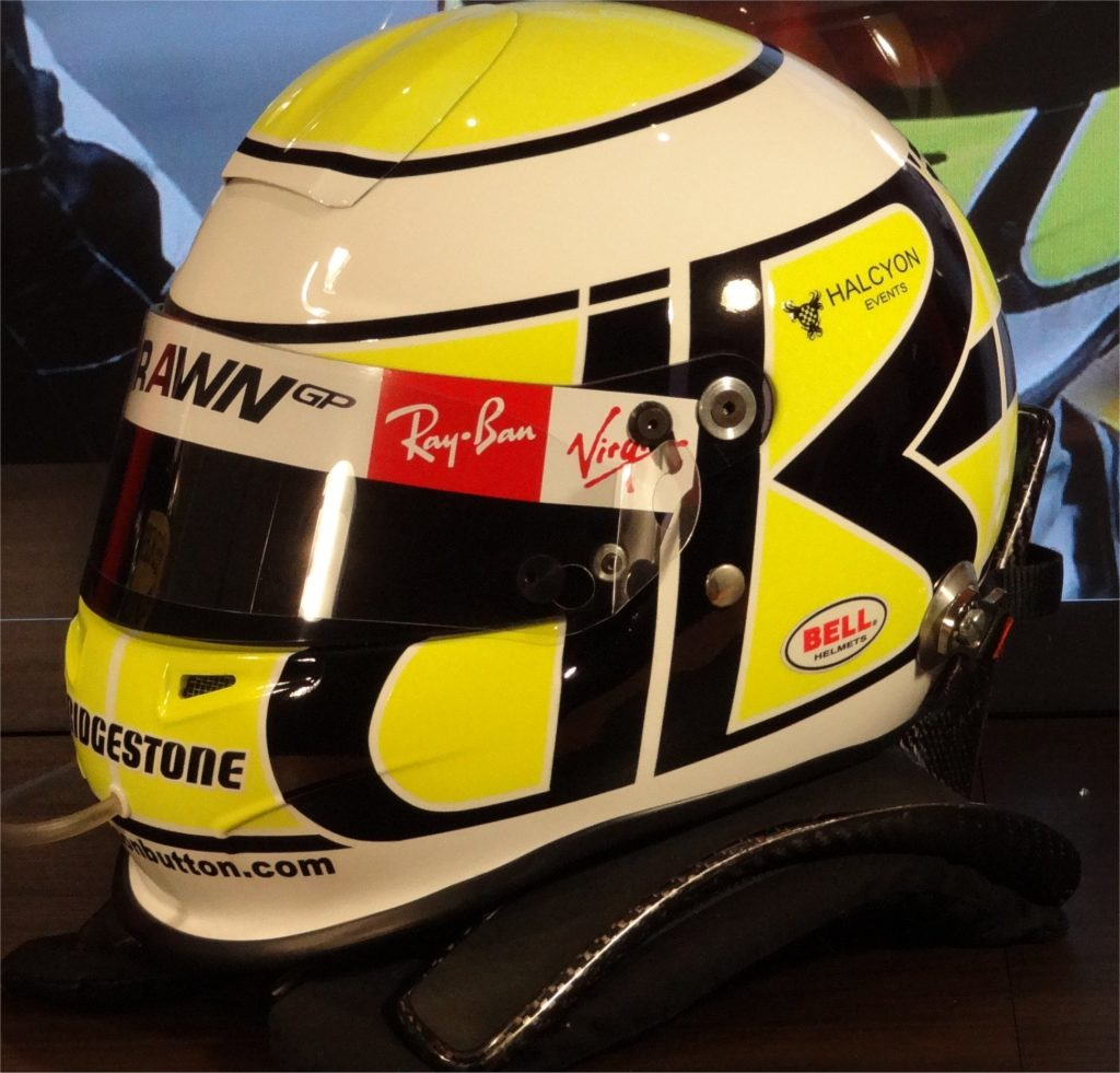 Jenson Button Bell helmet
