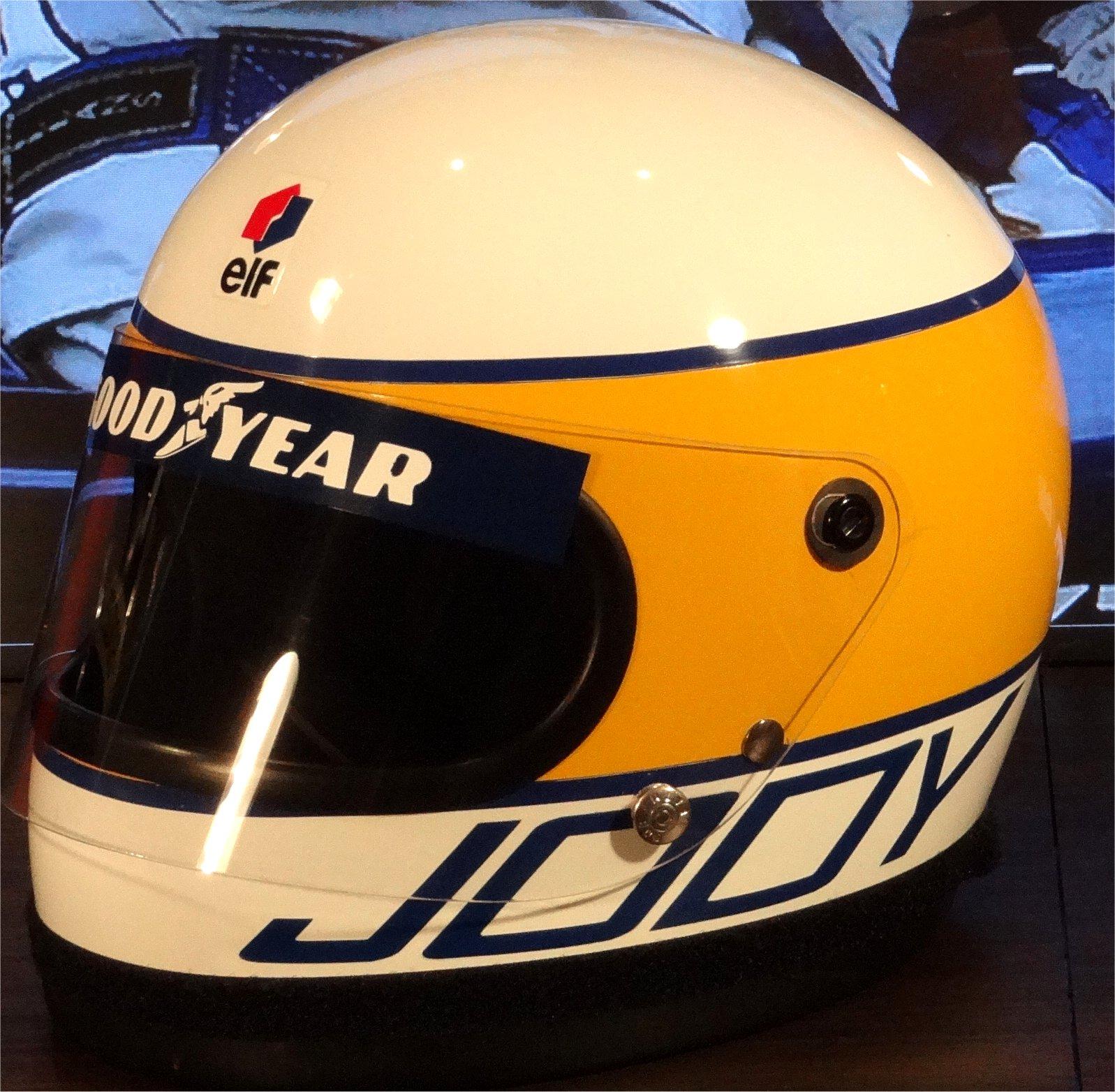 Jody Scheckter Bell helmet