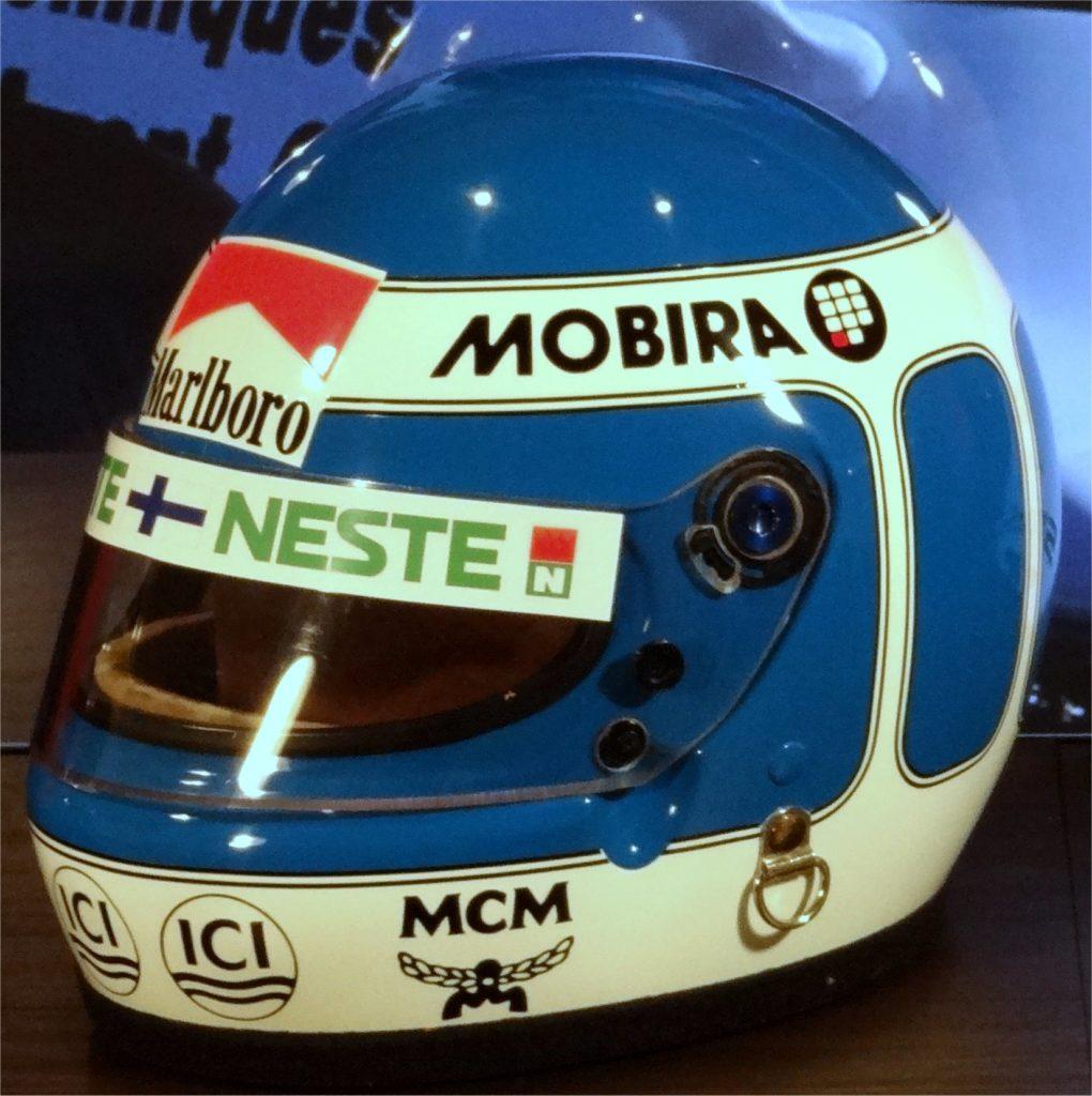 Keke Rosberg Bell helmet