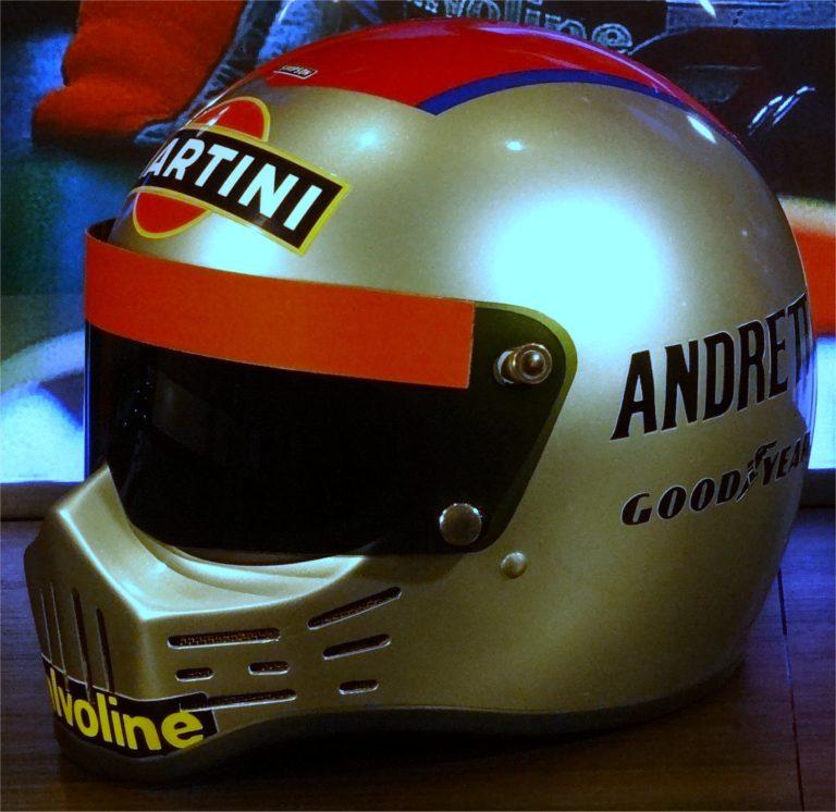 Mario Andretti Simpson RX-1 helmet