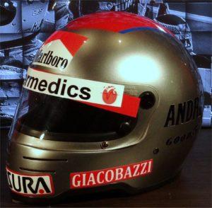 Mario Andretti Simpson helmet