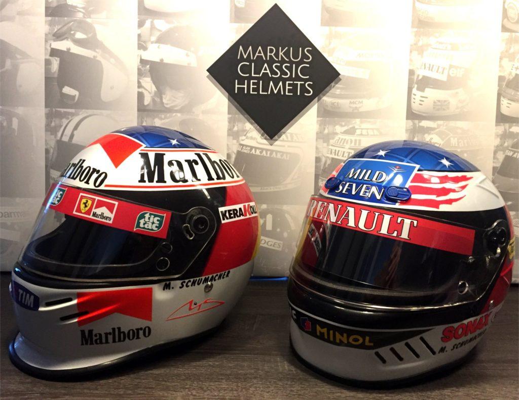 Michael Schumacher Bell helmet replica Formula 1 F1